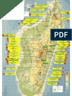 Carte de Localisation de Sites Hydroelectriques