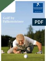 Golf Folder Falkensteiner 2013