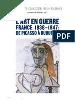 L'Art en guerre. France, 1938-1947