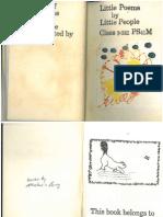 Little Poems by Little People