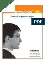 Computer Programmer - Delphi