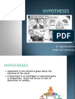 Class 7Hypotheses
