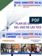 Plan de Gestion Tic.ensmagdot