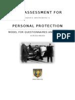Bodyguard Risk Assessment Model A