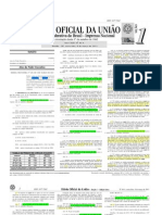 MP 609 e Decreto 7.947 de 2013