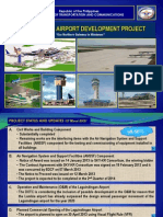 Laguindingan Airport Development Project (LADP) Status as of 15 March 2013