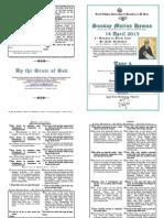 Tone 4 - 14 Apr - 8 Triodion - 4 Lent - St John Klimakos