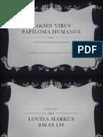 Vaksin Virus Papiloma Humanus