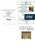 Tone _5_ Plagal 1 - 21 Apr - 9 Triodion- 5 Lent - St Mary of Egypt