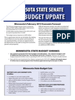 2013  Budget Update