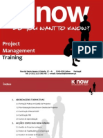 KnowNow Project Management Training
