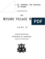 Mysore Village Manual Part III