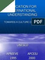 Education for International Understanding_sangeet