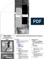 Hemorrhoids and Diverticular Disease2