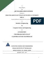 Expert Examination System