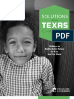 Solutions to Our Texas Challenge