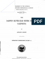 Darwin Silver Lead Mining District 1914 USGS Report