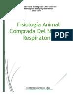 Fisiología Animal Comparada Del Sistema Respiratorio