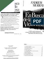 ANDREW MURRAY - En Busca de La Vida Victoriosa