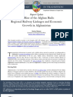 CFC Thematic Report - The Rise of the Afghan Rails, 11 March 13