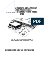 military water supply