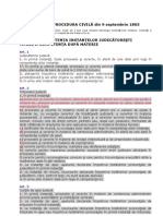 Codul de Procedura Civila - Feb 2012