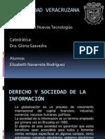 Derecho y Sociedad de la Información (trabajo para blogger)