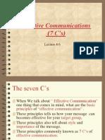 7 Cs of Effective Communication 3