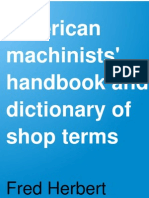 American Machinists Handbook and Diction