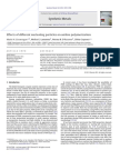 Effects of Different Nucleating Particles on Aniline Polymerization