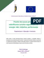 Practici de Succes Energii Regenerabile