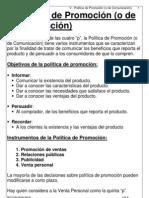 Politicas de Promocion-Comunicacion
