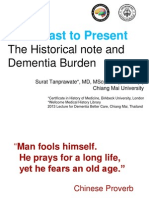 Past Present in Dementia, 2013