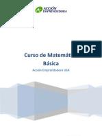 Manual de Matemáticas básicas para el micro empresario Accion Emprendedora