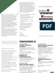 Faltblatt zur Aktionswoche anlässlich der Integrationsministerkonferenz in Dresden 2013