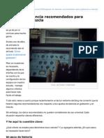 Artesonoro.com.Mx-Ajustes de Latencia Recomendados Para Grabacin y Mezcla