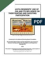 North Dakota Social Media Survey Report