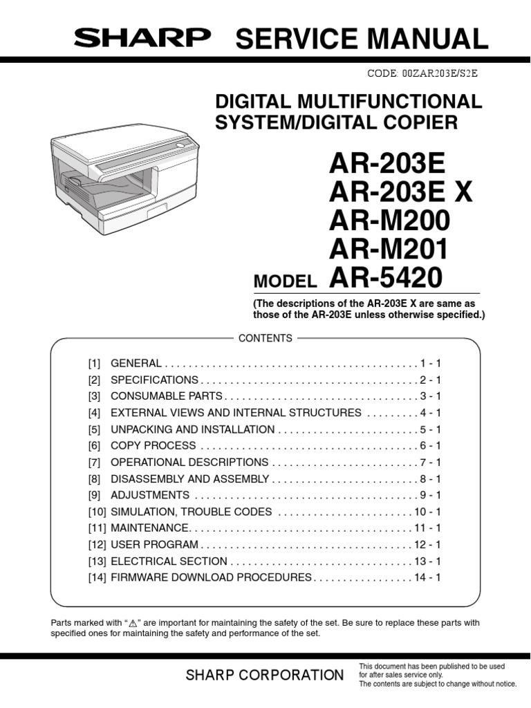 ar m201 service manual image scanner photocopier rh scribd com