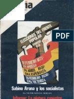 Javier Tusell - Cuadernos de Historia 16 - Numero 10 - Elecciones Del Frente Popular 1936, 1977