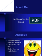 About Me PPt