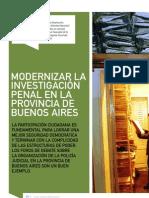 Modernizar la investigación penal en la provincia de Buenos Aires