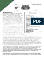 Community Bulletin - March 2013