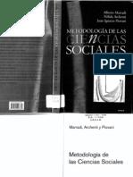 Marradi Archenti Y Piovani - Metodologia de Las Ciencias Sociales (Scan)