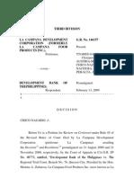 La Campana vs Dbp