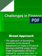 Challenges in Finance