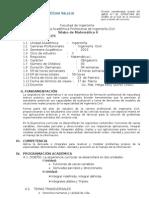 Silabo Matematica II[1]