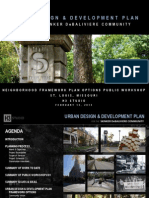 Skinker-DeBaliviere Neighborhood Urban Design Plan Public Meeting Presentation (St. Louis)