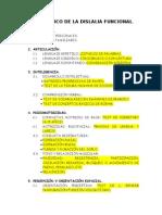 DIAGNÓSTICO DE LA DISLALIA FUNCIONAL