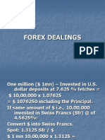 Forex Dealings