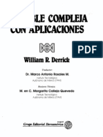 William.R.derrik-Variable Compleja Parte1